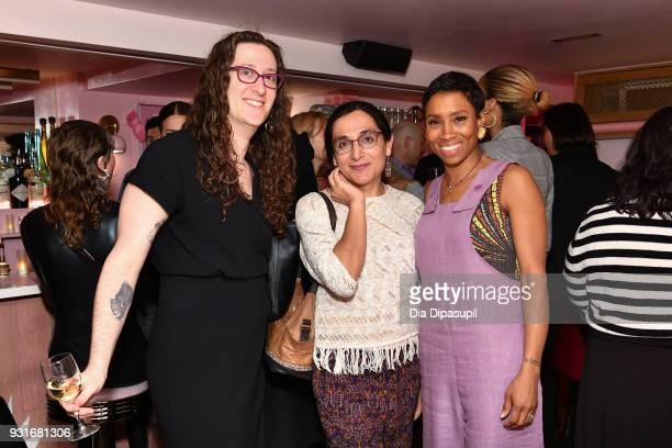Mount Sinai Center for Transgender Medicine and Surgery program director Zil Goldstein Daniela Simba and Jodie Patterson attend the Trans Awareness...
