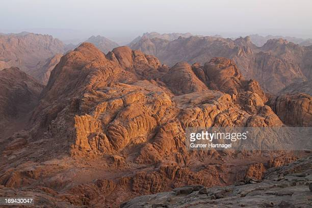 Mount Sinai in early morning light