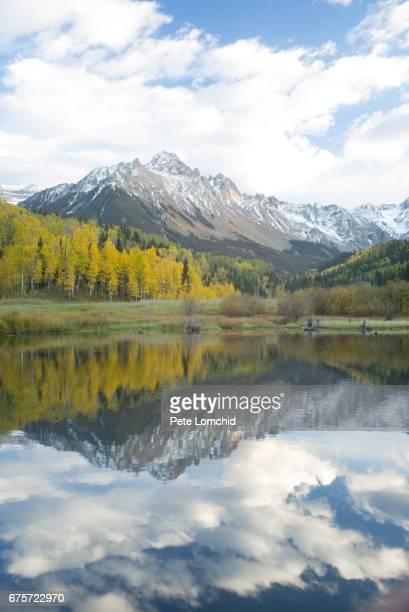 Mount sneffles reflection, Colorado