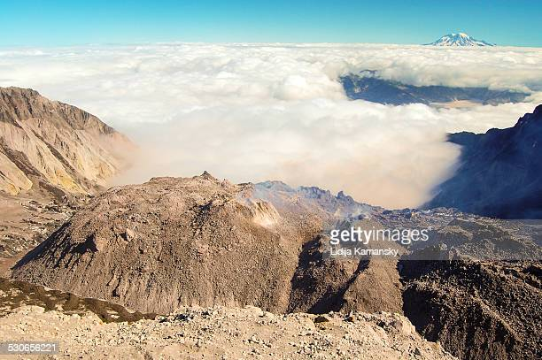 Mount St. Helens Crater View