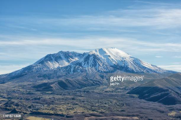 mount st. helens - mount st. helens stock pictures, royalty-free photos & images