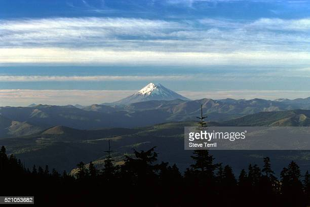 mount st. helens (historic) - mount st. helens stock pictures, royalty-free photos & images