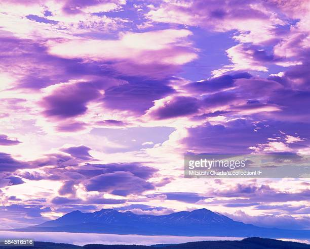 Mount Taisetsu at dawn