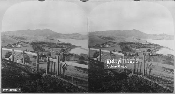 Mount Tamalpais as seen from Sausalito San Francisco California 1901