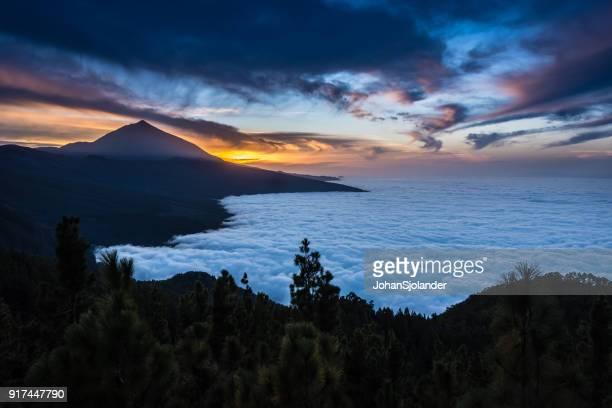 mount teide, teide national park - el teide national park stock pictures, royalty-free photos & images