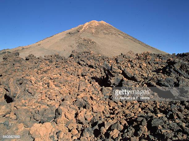 Mount Teide with Lava Deposits