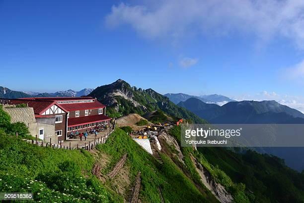 Mount Tsubakuro in Nagano Pref Japan