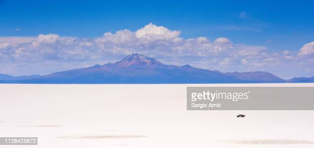 Mount Tunupa and Salar de Uyuni