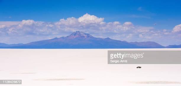 Mount Tunupa and Salar de Uyuni