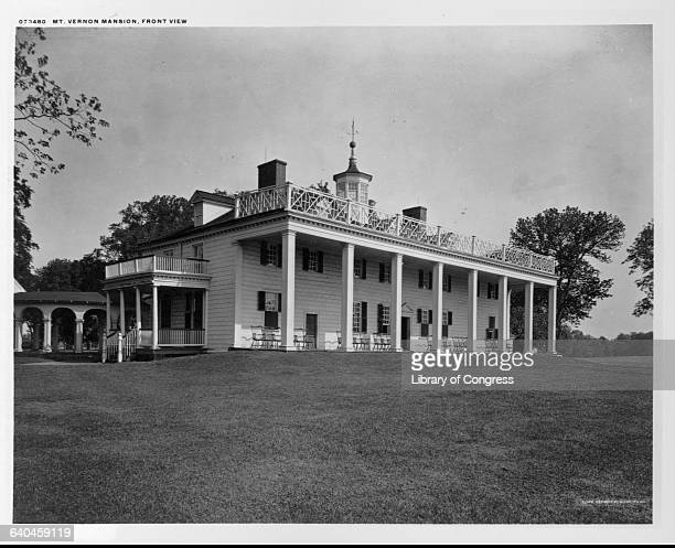 Mount Vernon Mansion home of George Washington ca 18981914