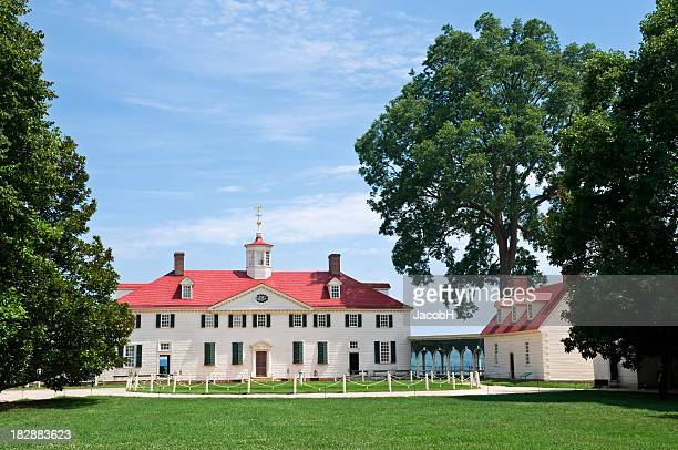 mount vernon - george washington bildbanksfoton och bilder