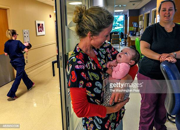 Mount Washington Pediatric Hospital in North Baltimore has a department that specializes in weaning newborns off of heroin and methadone on July 2015...