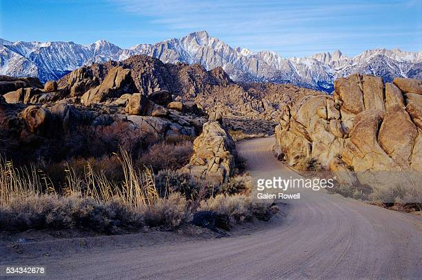 Mount Whitney Seen from Alabama Hills