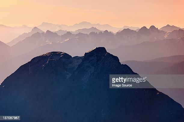 Mount Zugspitze, Bayern, Deutschland