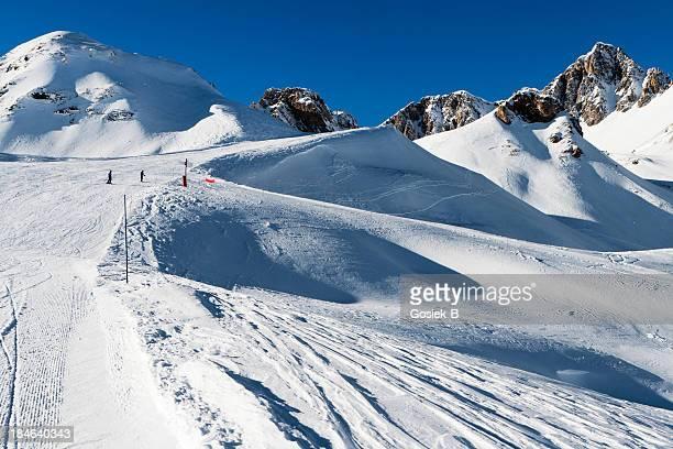 Mountain Alps,piste