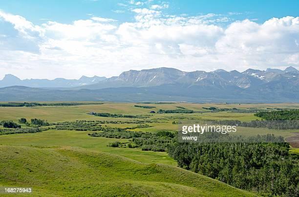 Mountain and Rangeland Panoramic