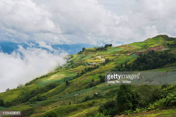 mountain and scenic in phu thap boek - boek imagens e fotografias de stock