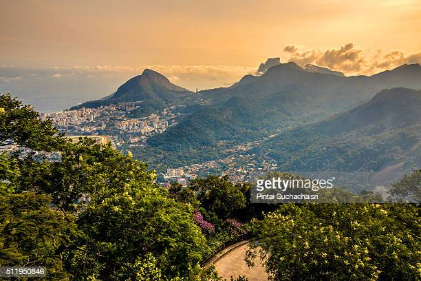 Mountain and Sea View from Corcovado