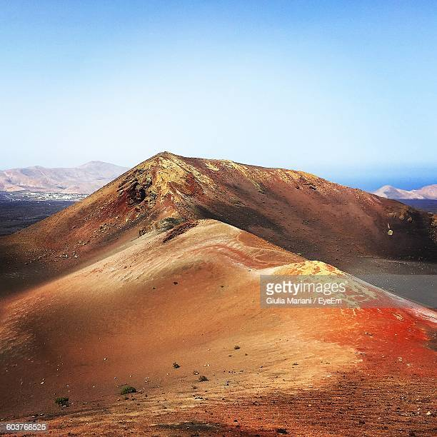 Mountain At Timanfaya National Park