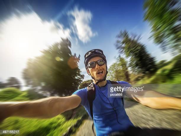 Mountain Bike: biker view