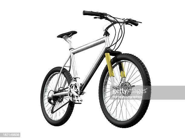 mountainbike front - mountain bike stock pictures, royalty-free photos & images