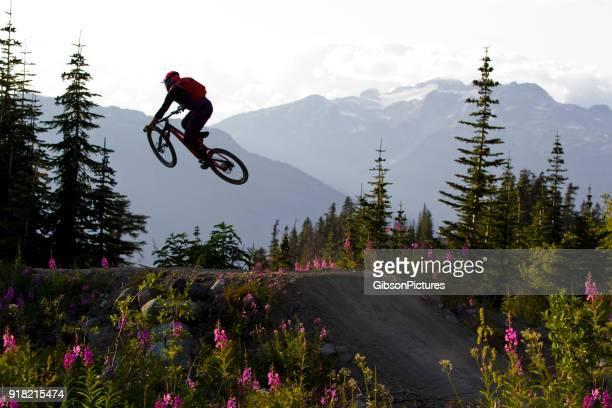 Mountain Bike Jump Canada