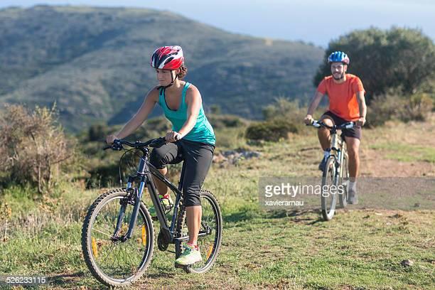 Mountain bike ride