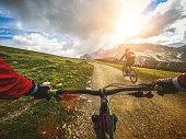 Mountain Bike: Single Trail in two