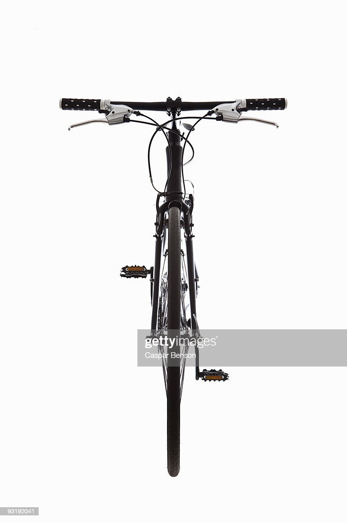 A mountain bike, still life, front view : Stock Photo