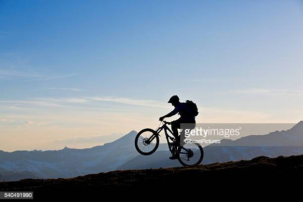 Mountain Bike Wheelie Fun