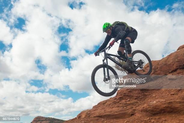 Mountain Biker In Sedona AZ