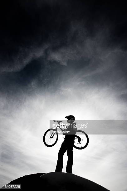 ciclismo de montaña - imperial system fotografías e imágenes de stock