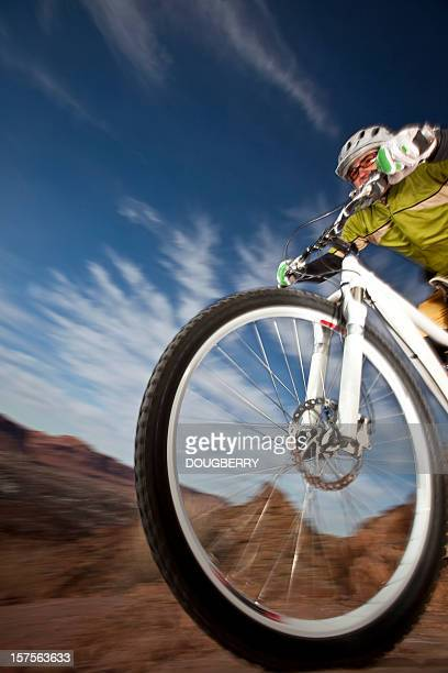 mountain biker - handlebar stock photos and pictures