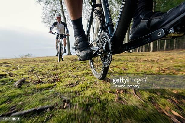 Mountain Biking in Fanefjord Skov Denmark
