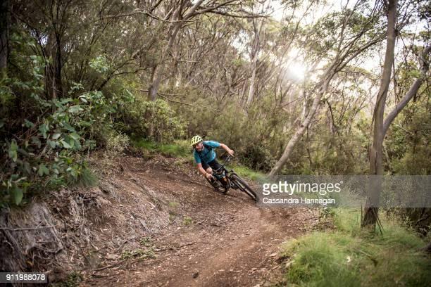 Mountain Biking in Mount Kosciuszko National Park, Australia