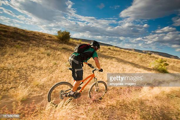 mountain biking! - fruita colorado stock pictures, royalty-free photos & images