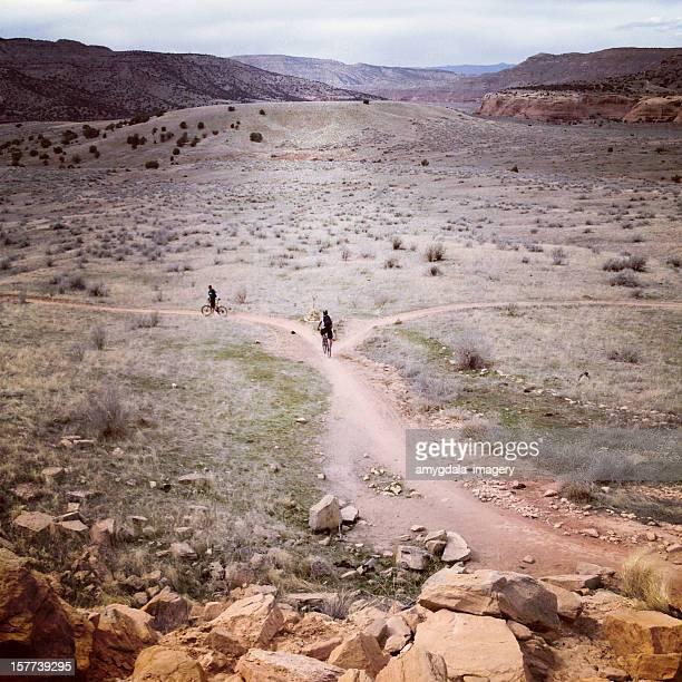 mountain biking - fruita colorado stock pictures, royalty-free photos & images