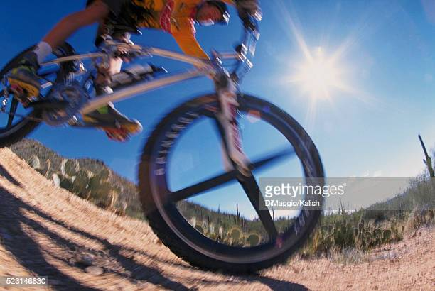 mountain biking - wide angle stock pictures, royalty-free photos & images