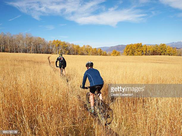 mountain biking - steamboat springs colorado - fotografias e filmes do acervo