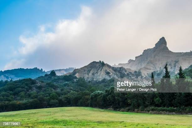 mountain called the sphynx by anzac cove, gallipoli peninsula - anzac cove stock pictures, royalty-free photos & images