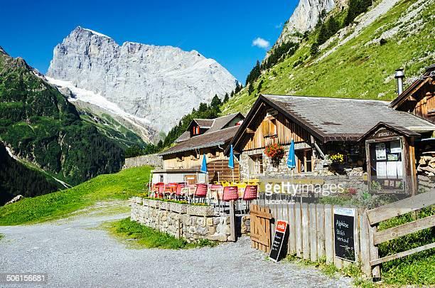 Mountain chalet nahe Engelberg der Schweiz