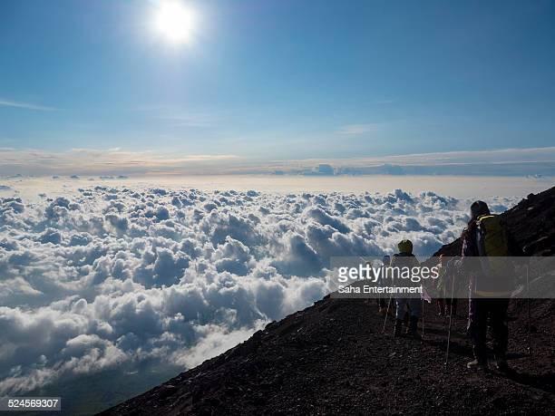 mountain climber from M't fuji