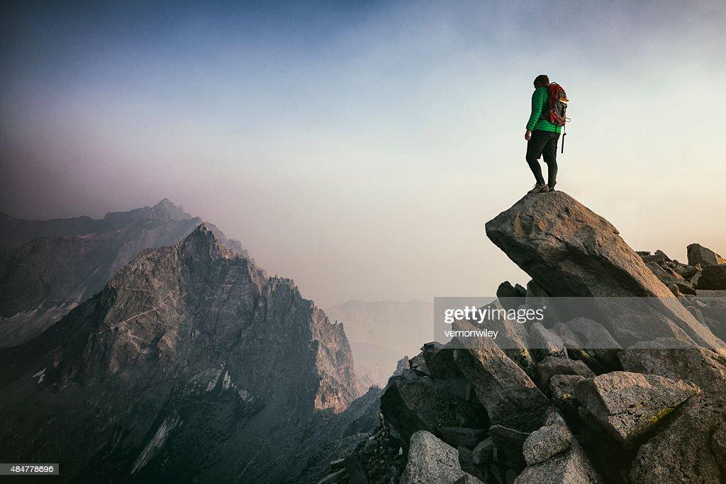 Alpinismo : Foto de stock