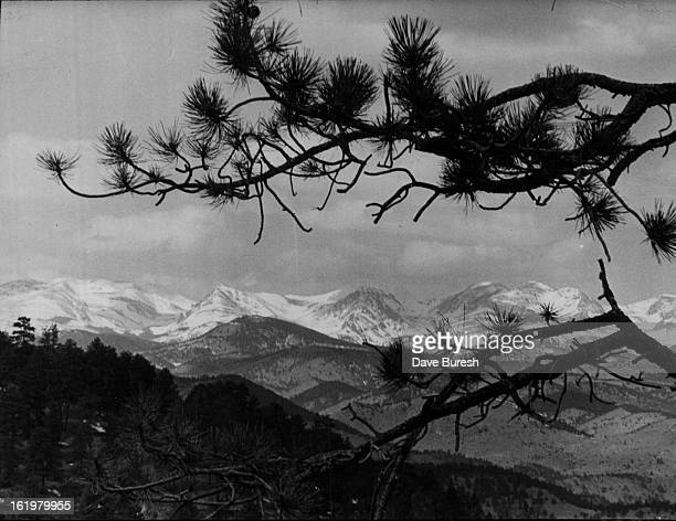 MAR 18 1976 MAR 19 1976 Mountain Colorado Snow Cover to Spread The mantle of white capping Rocky Mountains in this view looking west from Genesee...