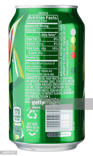 Mountain Dew Can Nutrition Facts