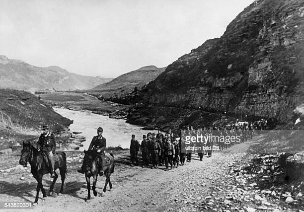 Mountain Division of the German Wehrmacht mountain infantry at Caucasus at Kuban valley