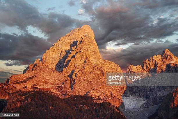 Mountain, Grand Teton National Park, Wyoming, America, USA