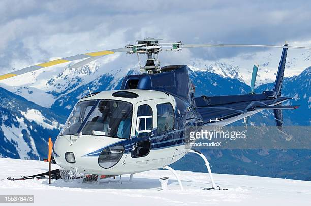 mountain helicopter - helicopter photos stock pictures, royalty-free photos & images