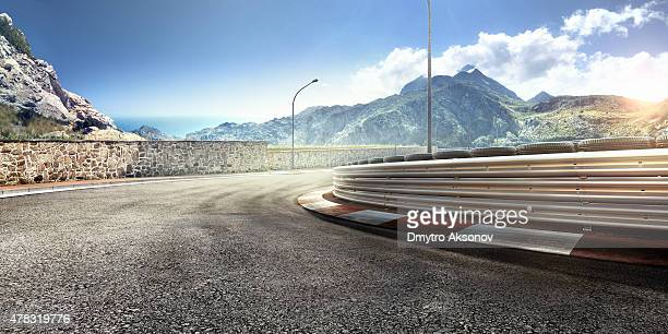 mountain highway track - motorsport bildbanksfoton och bilder