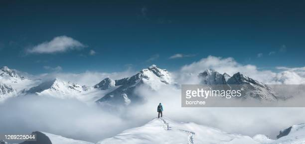 mountain hiker - mountain stock pictures, royalty-free photos & images